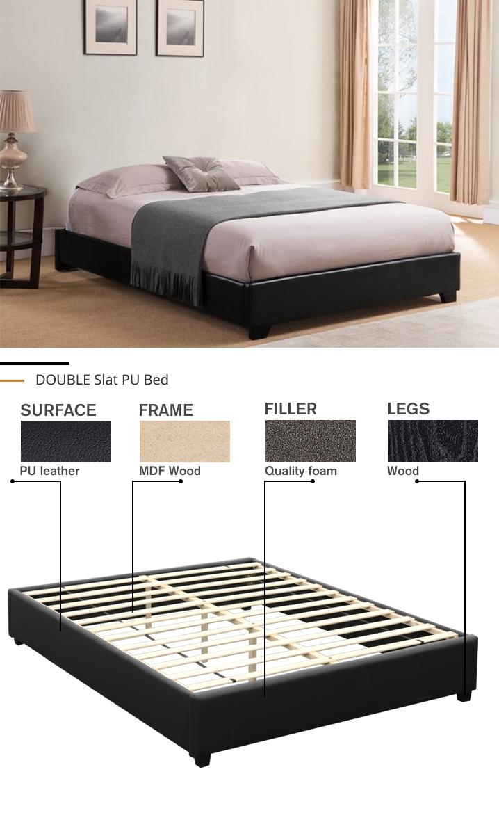 DOUBLE Slat Bed