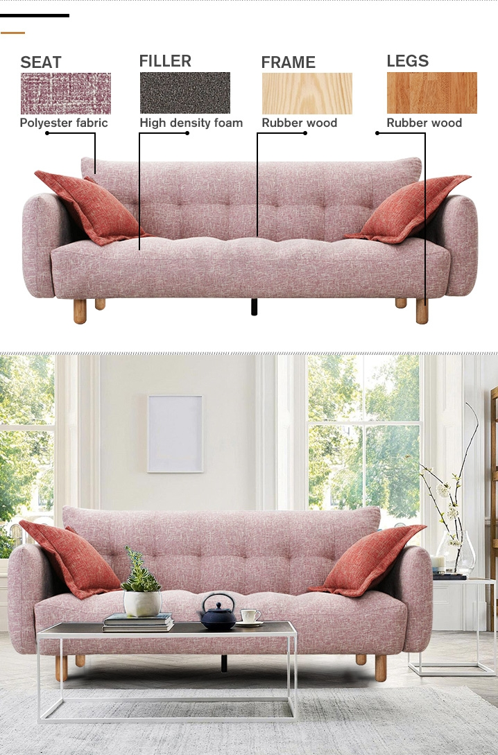 COLMAR 3 Seater Sofa Bed