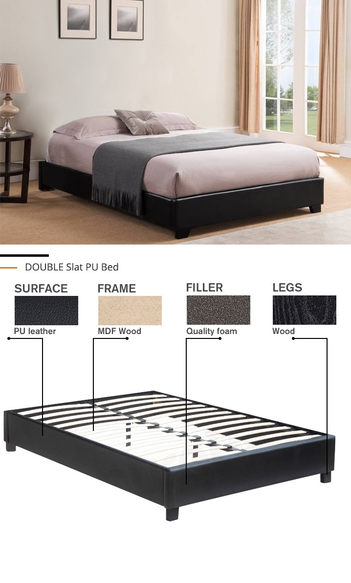 DOUBLE Slat Bed