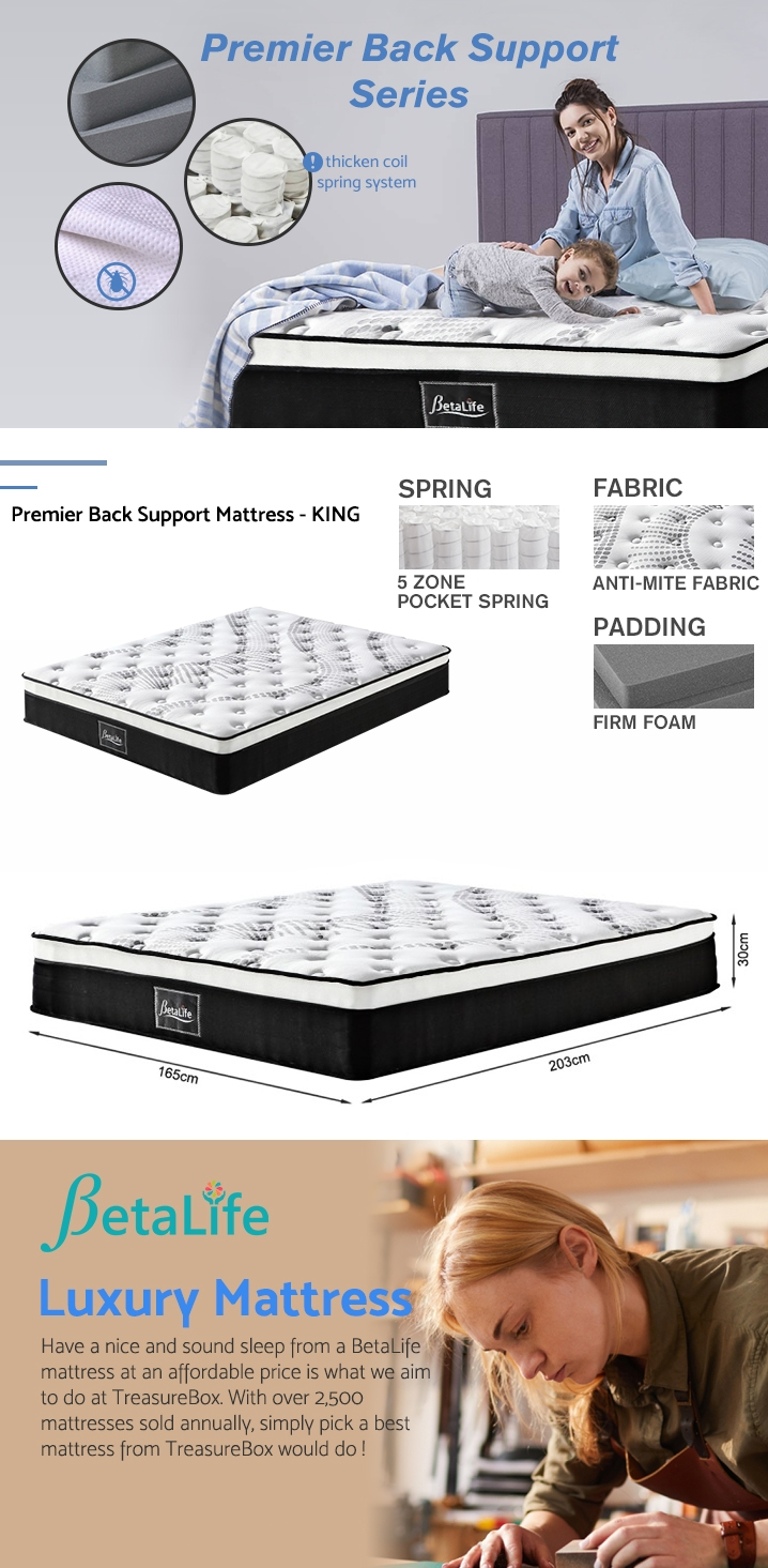Betalife Premier Back Support Mattress - KING