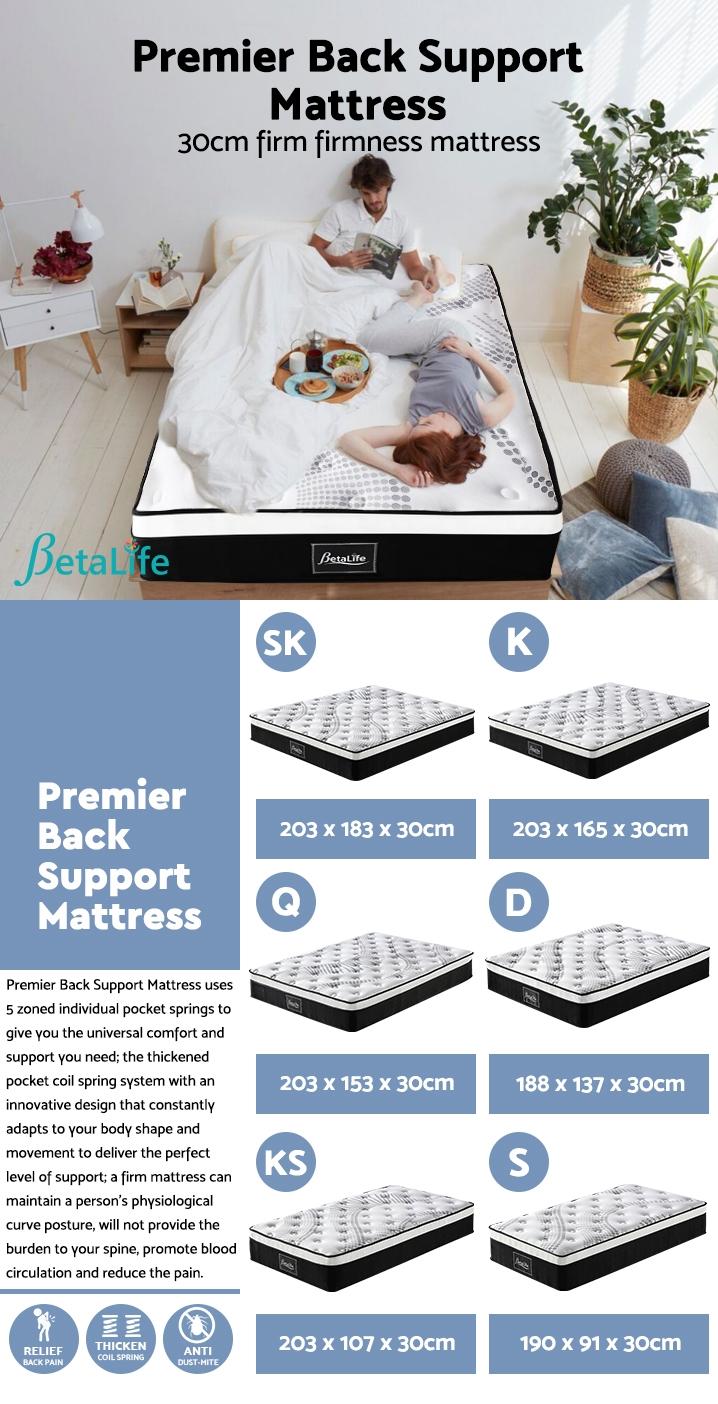Betalife Premier Back Support Mattress - SUPER KING