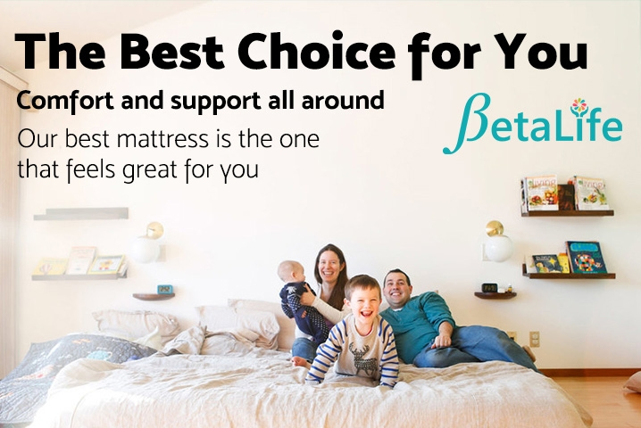 BetaLife Deluxe Pocket Spring Mattress - KING SINGLE